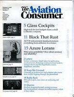 The Aviation Consumer Magazine February 1 1990 EX No ML FAA Library 102016jhe