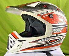 Fulmer Rockstar Full Face MX Racing Helmet Size XS