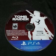 Tomb Raider - Definitive Edition - Sony PlayStation 4 - Ps4 disc only