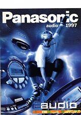 Panasonic Original Prospekt / Katalog   Audio 1997