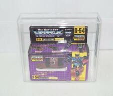 D-54 Dead End MINT UNUSED CSG GRADED 8.1 Takara 1986 Japanese G1 Transformers