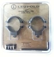 Leupold QR Medium Rings (.770) 49974, Matte