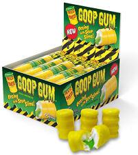 Paquetes de X8 = 24 barriles Goop goma de mascar bolsas de residuos tóxicos Halal Dulces Fiesta América Candy