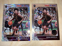 2019-20 Hoops Premium Stock Kevin Porter Jr. Lot Pulsar Prizm & Base Rookie RC