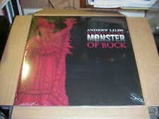 LP:  ANDREW LILES - Schmetaling Monster Of Rock  RED VINYL Ltd NEW SEALED