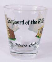 "Shepherd Of The Hills Old Matt's Cabin 2.25"" Collectible Shot Glass"