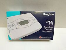 Drayton LP522 2 Channel 5/2 Day Central Heating Programmer
