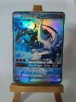 Mega Charizard X and Blue Eyes w. Dragon Proxy Custom Pokemon Card in Holo