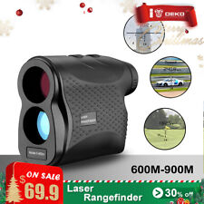 DEKOPRO 600M Digital Telescope Laser Range Finder Distance Meter Waterproof