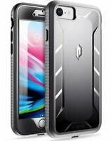 Poetic For iPhone 8/7 & iPhone SE 2020 Case Dual Layer Shockproof Cover Black
