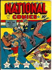 Golden Age Heroes 4 Startling comics, National Comics and more on Dvd