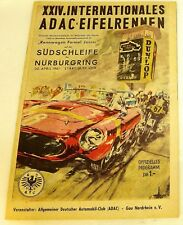 30. APRIL 1961 XXIV Int ADAC Eifelrennen Nürburgring PROGRAMMHEFT VII13 å *