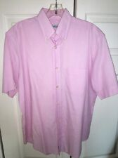 Made Expressly For Berteil Paris Deauville Short Sleeve Cotton Shirt Large 39