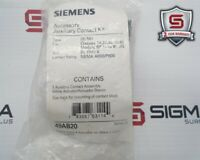 Siemens 49AB20 Auxiliary Contact Kit