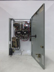 "Ge 8000 Größe 1 Rückfahr Starter 3 Amp Tec Schalter 24 "" Mcc Eimer No Rot Knauf"