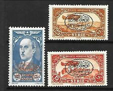 SYRIA Sc C114-6 LH issue of 1944 - OVERPRINT