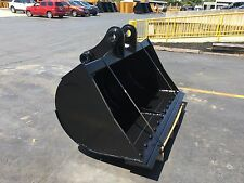 """New 72"""" Ditch Cleaning Bucket for a Komatsu Pc200 with Pins"""