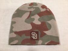 San Diego Padres Camo Knit Beanie