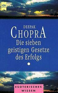 Die sieben geistigen Gesetze des Erfolgs von Chopra, Deepak   Buch   Zustand gut
