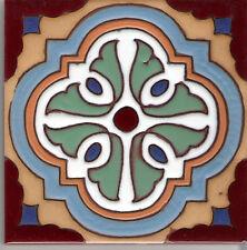 "California Malibu Tile Reproduction ~ Hannini B 6""x6"" Per SqFt 4 Pcs"