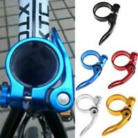 GUB 31.8/34.9mm Aluminum MTB Bike Bicycle Seatpost Clamp Quick Release Seat Post