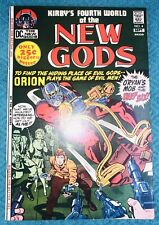 NEW GODS 4 MIDGRADE (6.5 to 7.0 range) 1ST ESAK 2ND SLIG DARKSEID DC COMICS 1971