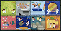 South Korea Science Stamps 2019 MNH Part II Technology Space 8v Block
