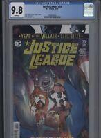 Justice League #33 CGC 9.8 Francis Manapul 2019