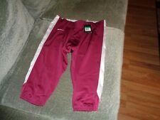 New Mens Nike 3/4 Open Field Football Pants Maroon Xl $70 Retail 615745 X-Large