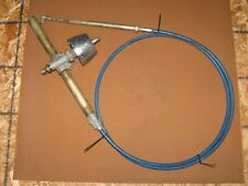 DJ7C8394 Used 10 Ft Blue Steering Cable with Steering Helm
