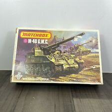 Vintage Matchbox M-40 G.M.C 2 colour kit + Diorama 1/76 Scale Model Kit PK-86