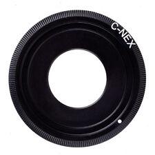C-NEX Adapter For C Mount Movie Lens to Sony NEX Camera A7III A7RIII A9 NEX7/6/5