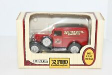 Ertl Anhheuser Busch 32 Ford Panel Delivery Die-Cast Bank