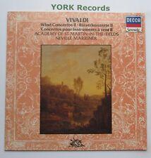 414 324-1 - VIVALDI - wind Concertos MARRINER Academy of St MitF - Ex LP Record