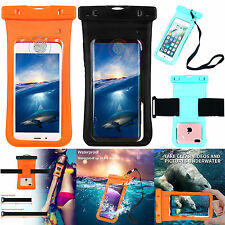 iPhone 7 6S Plus Samsung S8 WATERPROOF UNDERWATER PHOTO CASE PHONE DRY BAG POUCH