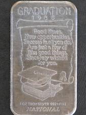 1988 National Mint Graduation Silver Art Bar NA-82V P2274