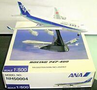 Herpa / Hogan Wings 1:500 NH50004 ANA Japan B747-400 JA8962 - Model