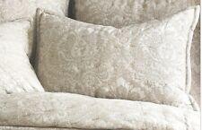 New 2-Elisabeth York Navar King Pillow Sham 20'X36� Beige C&F Enterprises