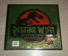 Jurassic Park 1-3 Lost World GOLD Box Set Steven Spielberg Movie Thai Video CD
