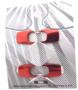 OAKLEY BATWOLF ICONS INTERCHANGEABLE chrome diamond red orange green USA flag