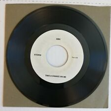 ABBA Take A Chance On Me 1977 45 Atlantic M/S TEST PRESSING LIKE NEW