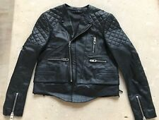 BALENCIAGA MOTORCYCLE LEATHER QUILTED JACKET - NEW 1dfed3ca18