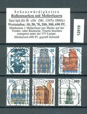 12519) Ideal: Bund Sehenswürdigkeiten SWK Melierfasern zentrisch + gepr. BPP !!!