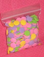 Confetti,Pastel,Jumbo, Sugar Sprinkles,3oz.DecoPac,Decoration,Multi-Color,Edible