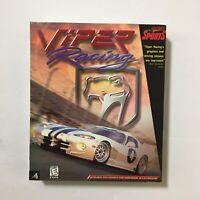 Viper Racing PC Computer Game 1998 Sierra Sports Big Box Complete CD-ROM
