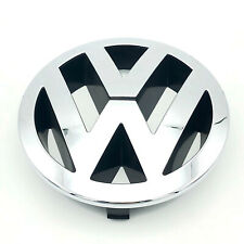 VW TOUAREG FRONT 150mm GRILLE EMBLEM CHROME BADGE 7L6853601A