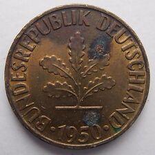 Alemania 10 Pfennig 1950 F