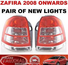 Vauxhall zafira b 2008 > paire arrière feux arrière lentilles pilotes et côté passager