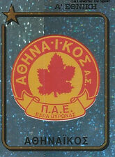 N°022 BADGE ATHINAIKOS GREECE HELLAS PANINI GREEK LEAGUE FOOT 95 STICKER 1995
