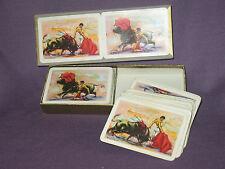 Fournier Made in Spain Playing Cards Bullfighting Scenes Original Box